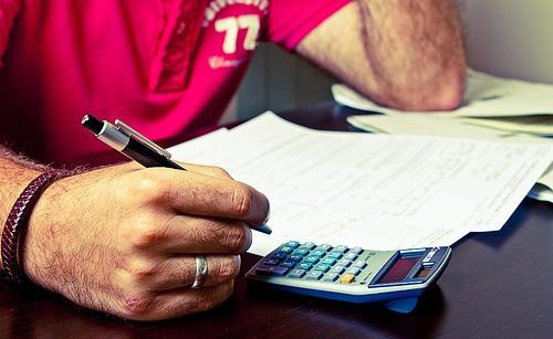 Impresos y calculadora