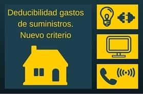 Actividad económica en la vivienda. Deducibilidad de los gastos